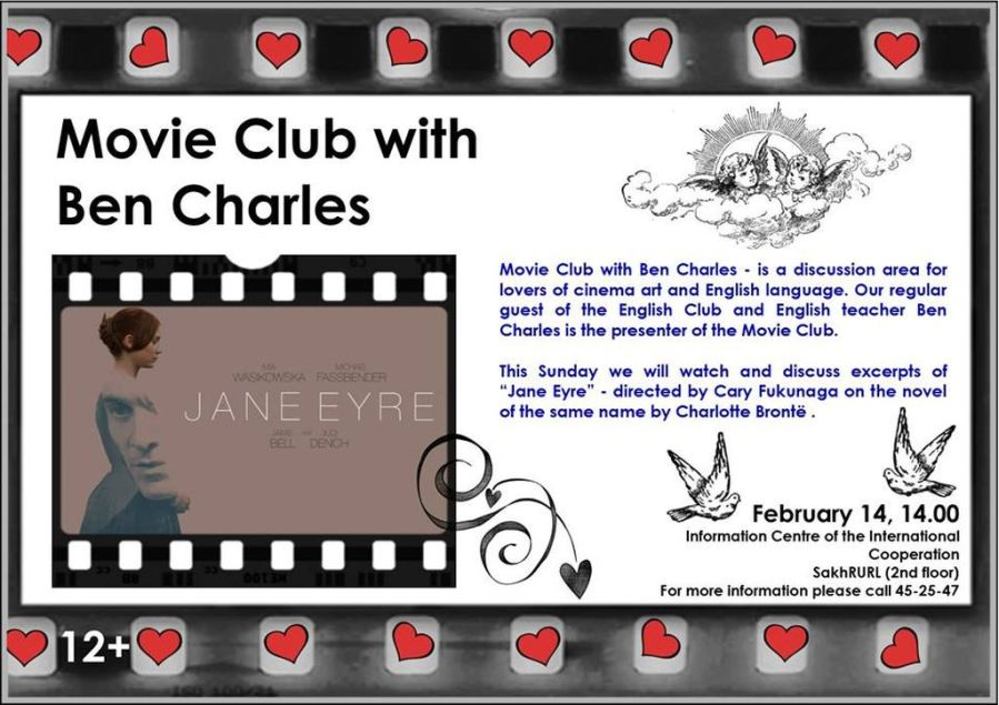 Movie. Club. Jane Eyre.