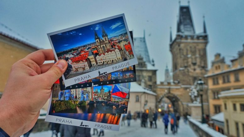 blognemo.ru открытка postcard Прага Чехия Prague Czech Republic