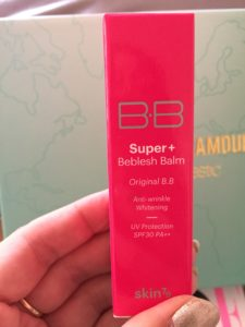 bb cream foundation in box
