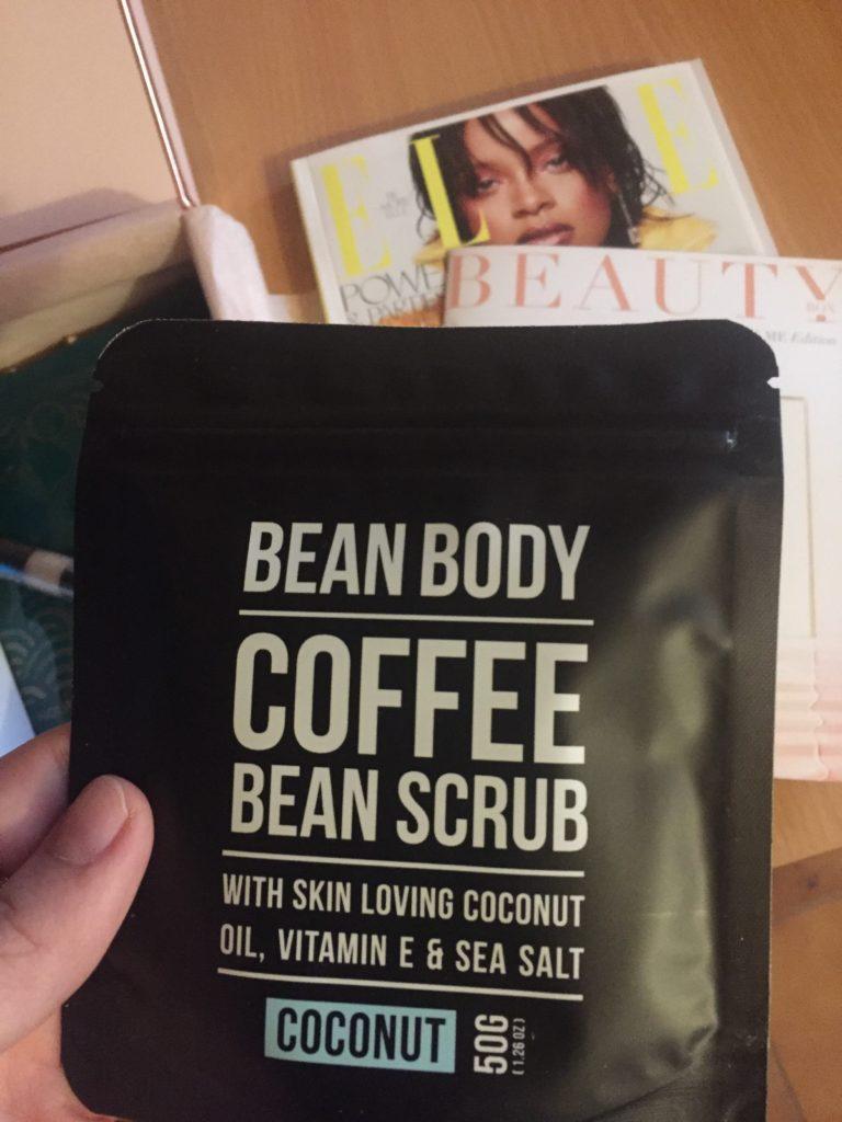 bean body coffee bean scrub