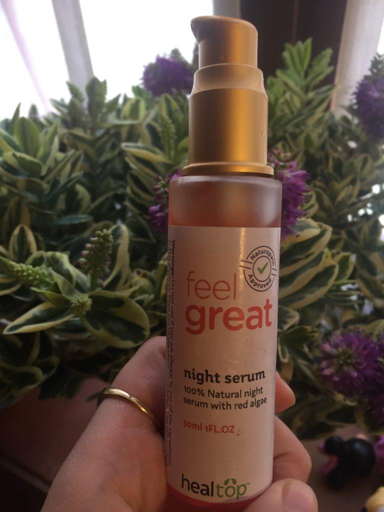 feel great night serum