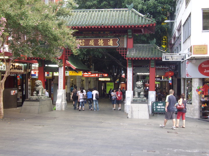 Entry to Chinatown, Sydney