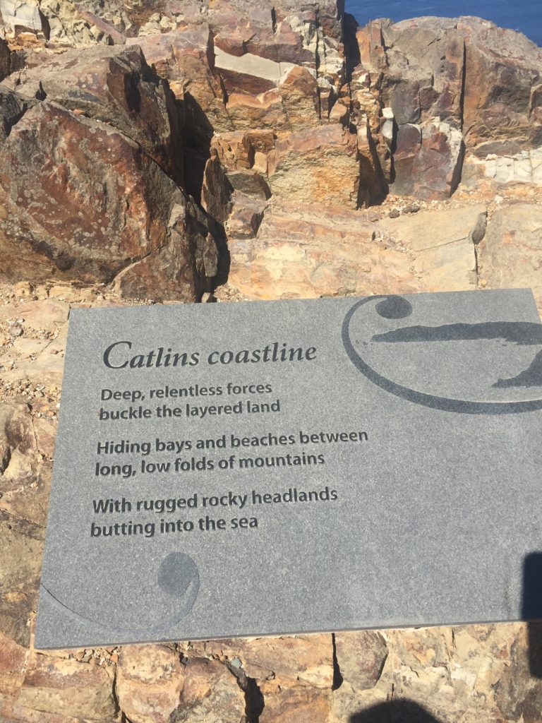 Catlins coast sign