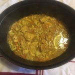 Easy chicken tajine in a crock pot