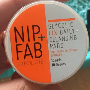 Nip + Fab glycol fix cleansing pads