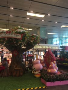 feature at Changi