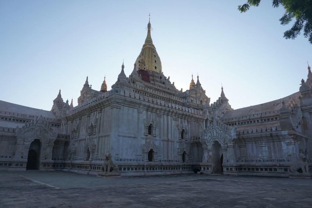 Ananda temple Bagan