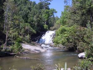 Chiang Mai trek waterfall