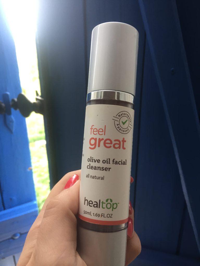 Natural olive oil cleanser
