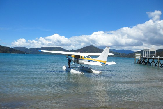 float-plane-picton-marlborough-sounds