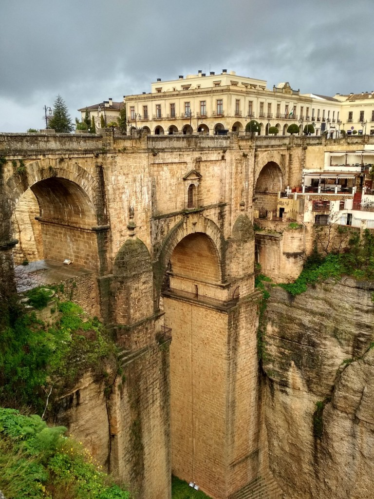Bridge in Malaga - ancient architectural wonder
