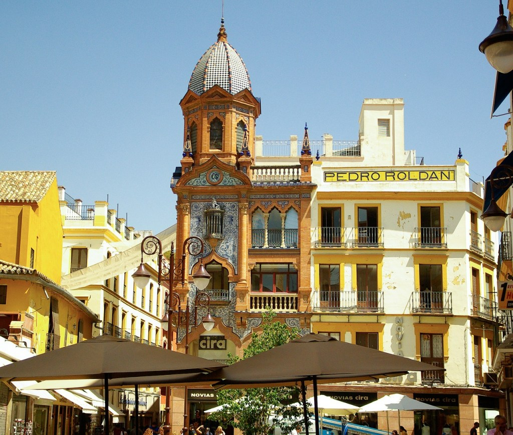 Spain - Seville architectural building