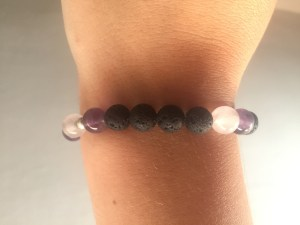 Essential oil jewellery bracelet