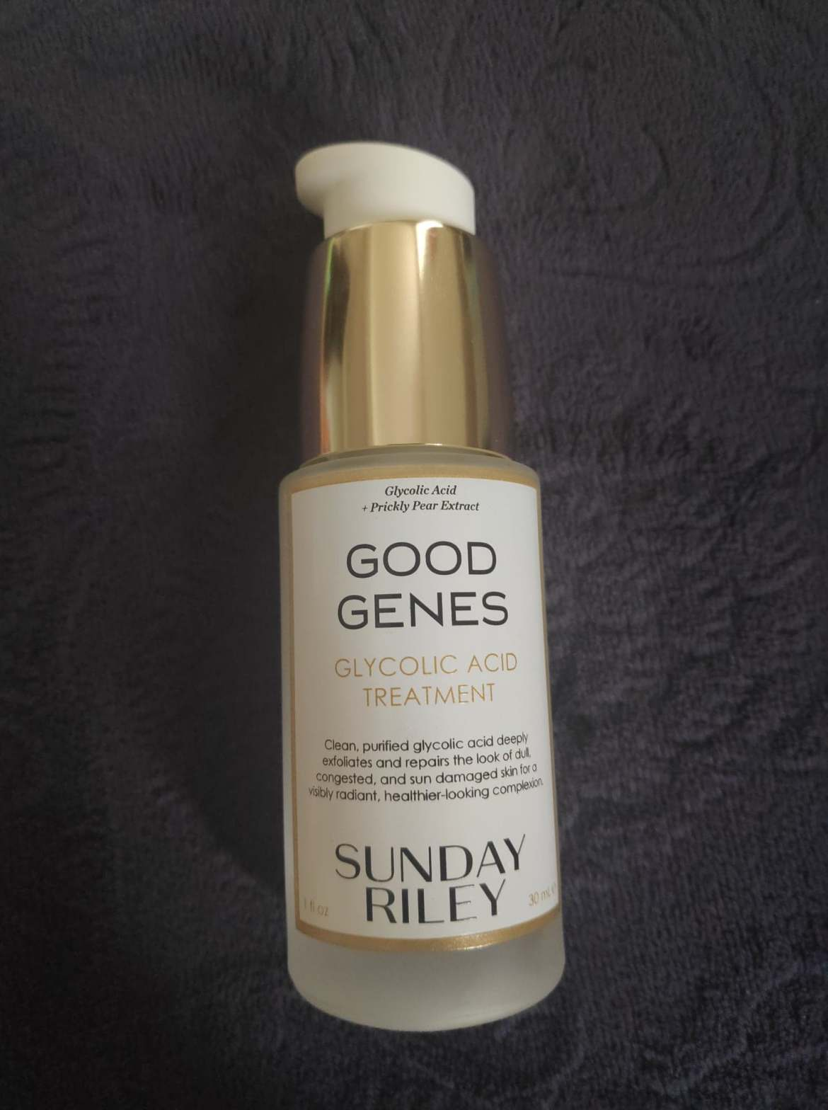 "Cult best seller ""Good Genes"" Glycolic acid treatment by Sunday Riley"