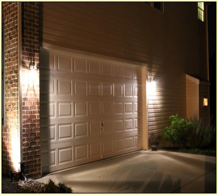 GARAGE DOOR WITH LIGHTS