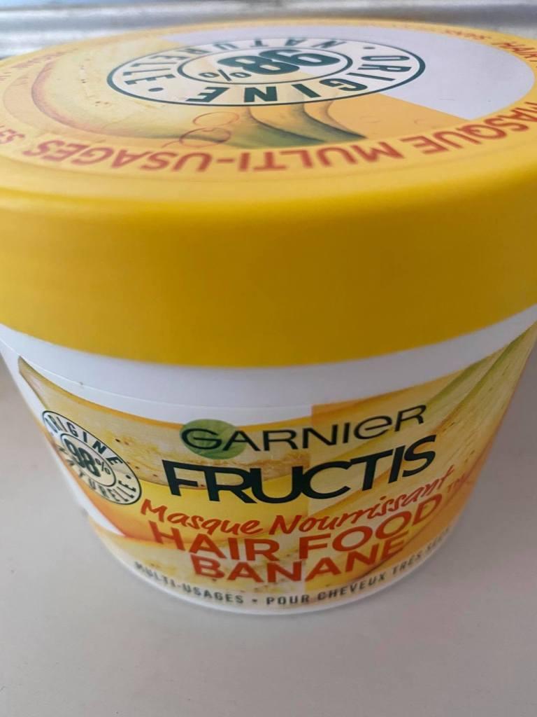 garnier fructis hair food mask for curls