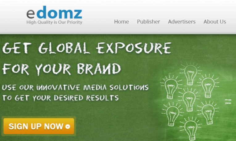 eDomz.com Leading Ad Network Providing Pop and CPM Advertising