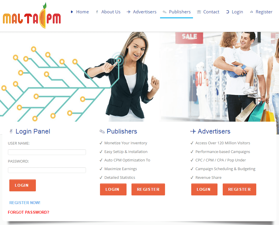 MaltaCPM Review – CPM / PopUp / PopUnder / Direct Link Ad Network 2020