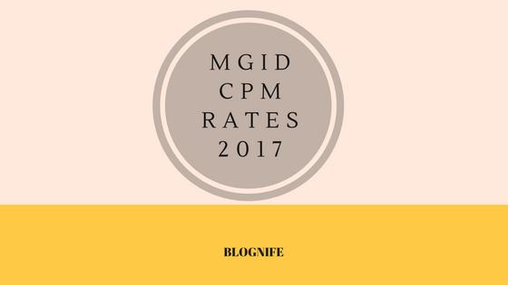 MGID CPM Rates 2020