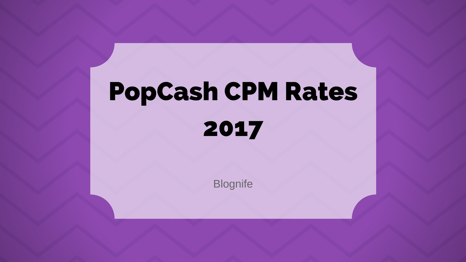 PopCash CPM Rates 2020