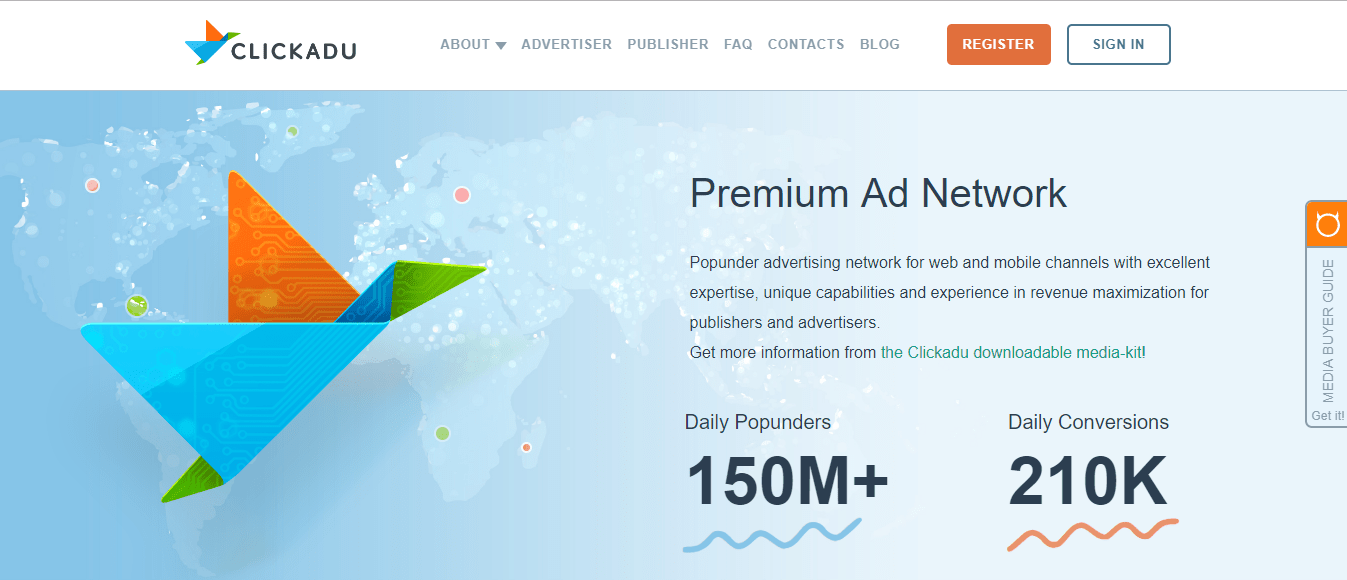 ClickAdu Review- Payment Proof and CPM Rates 2019