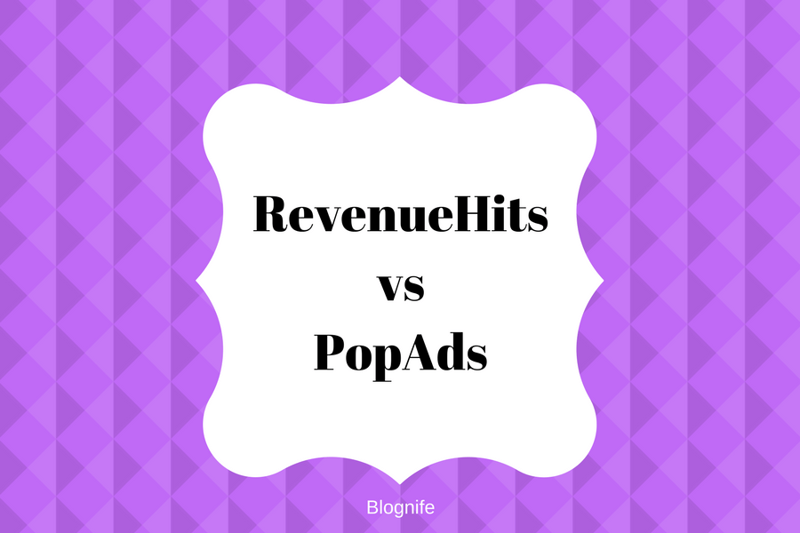 RevenueHits vs PopAds- CPM Rates, Payments, and Earnings Report
