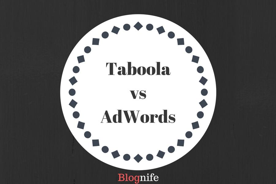 Taboola vs AdWords