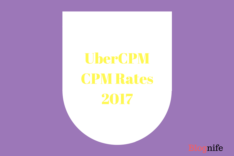 UberCPM CPM Rates 2019