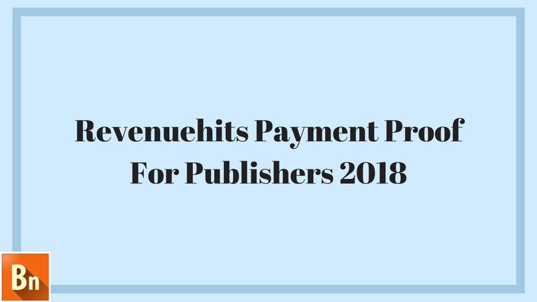 Revenuehits Payment Proof 2020