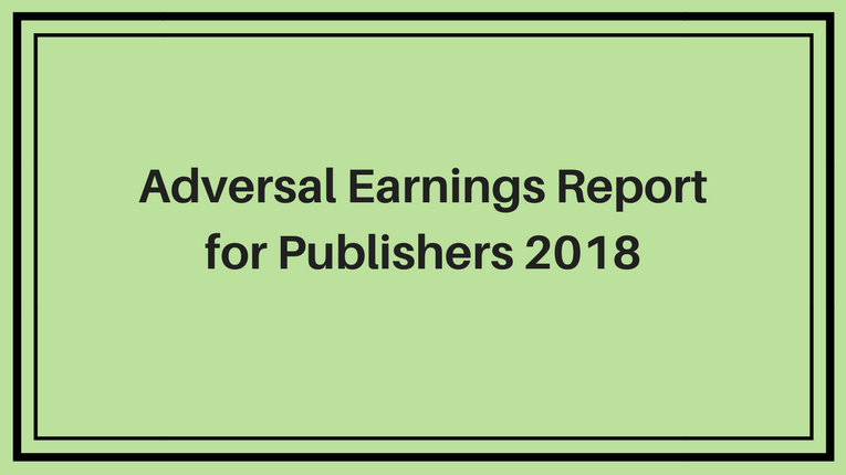 Adversal Earnings Report 2019