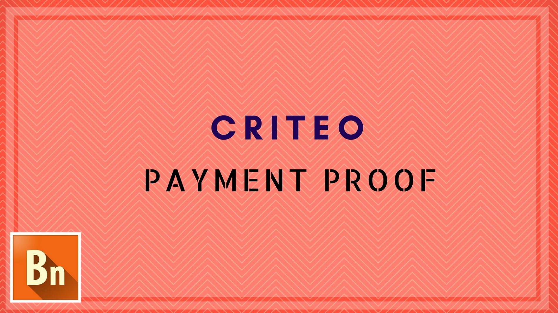 Criteo Payment Proof for Publisher 2019