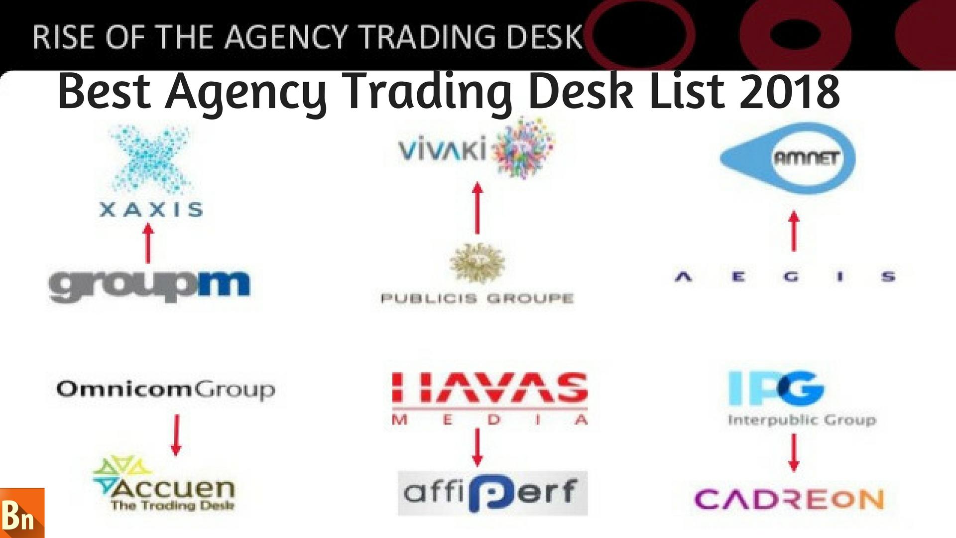 Best Agency Trading Desk List 2018