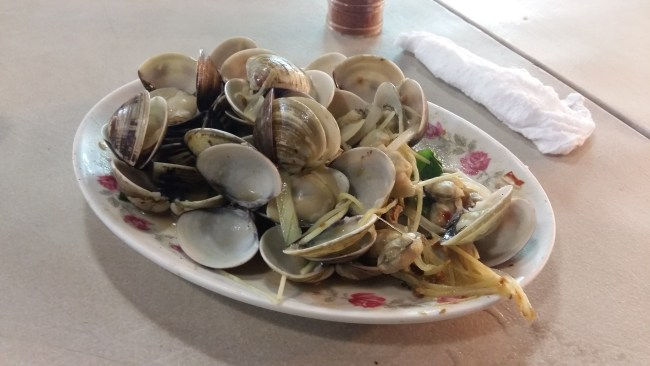 Clams night market