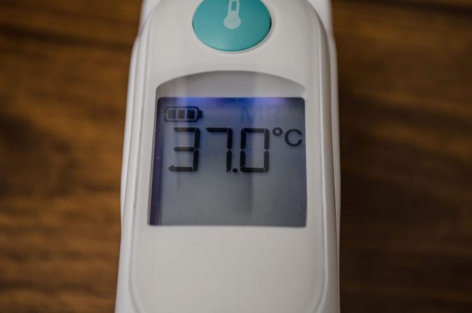 temperature thermometer Braun Thermoscan