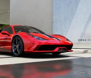 Forza 6 Apex Ferrari Game computer red