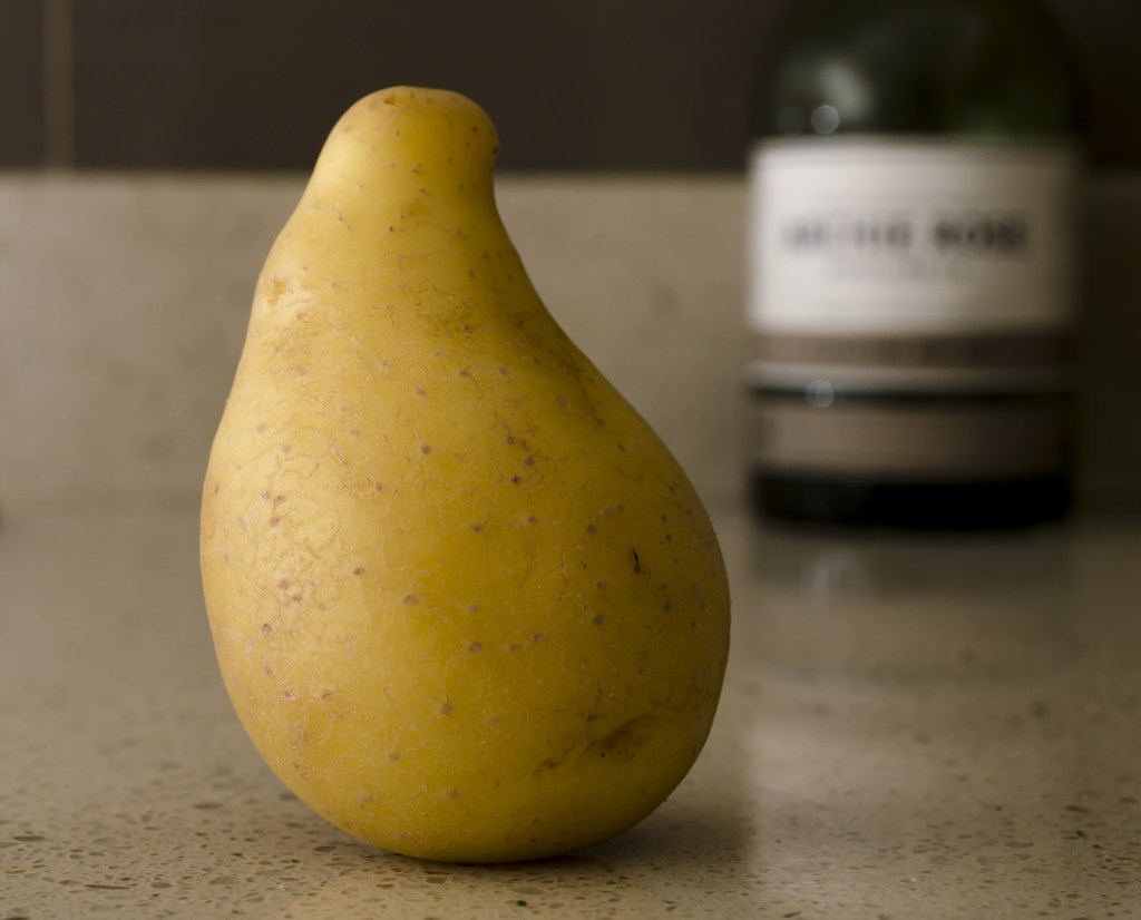 Non-perfect vegetable, potato