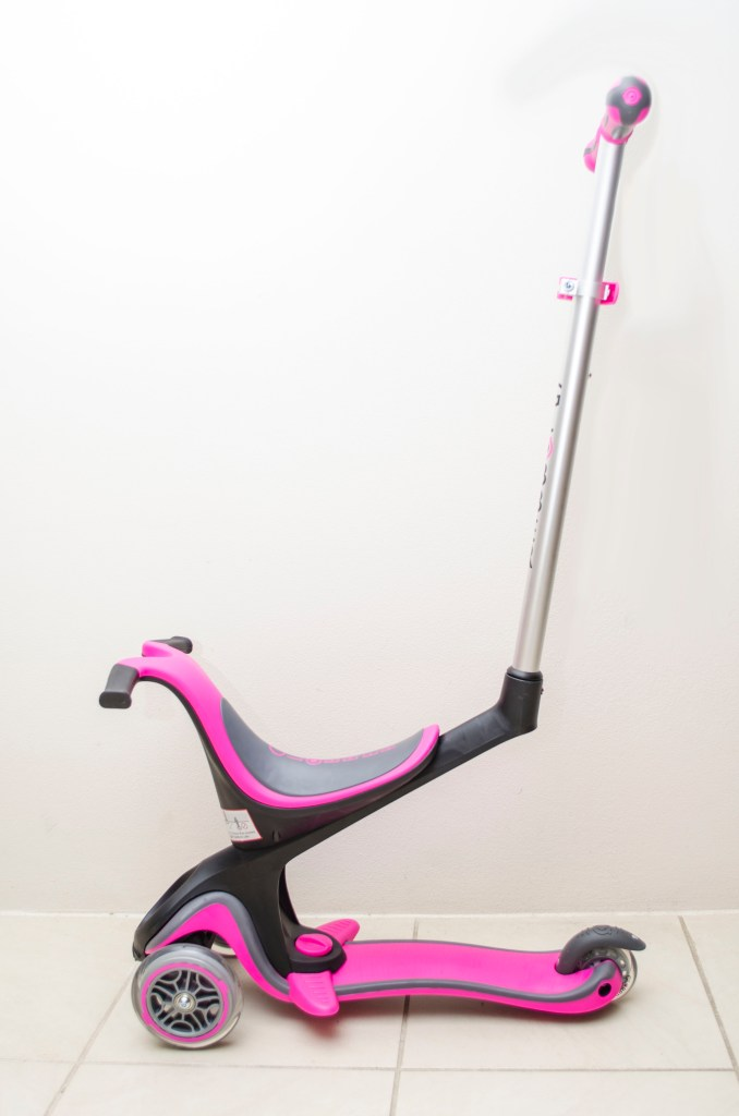 Globber MyFREE 5-in-1 scooter side view