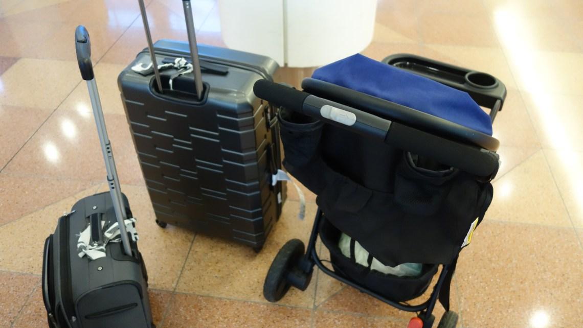 Antler Prism Embossed Suitcase