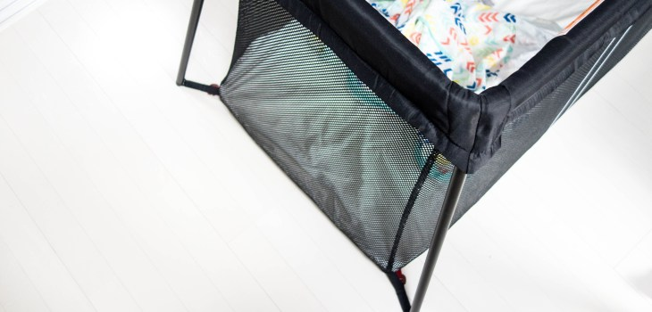 BabyBjorn Travel Cot Light bedtime routine