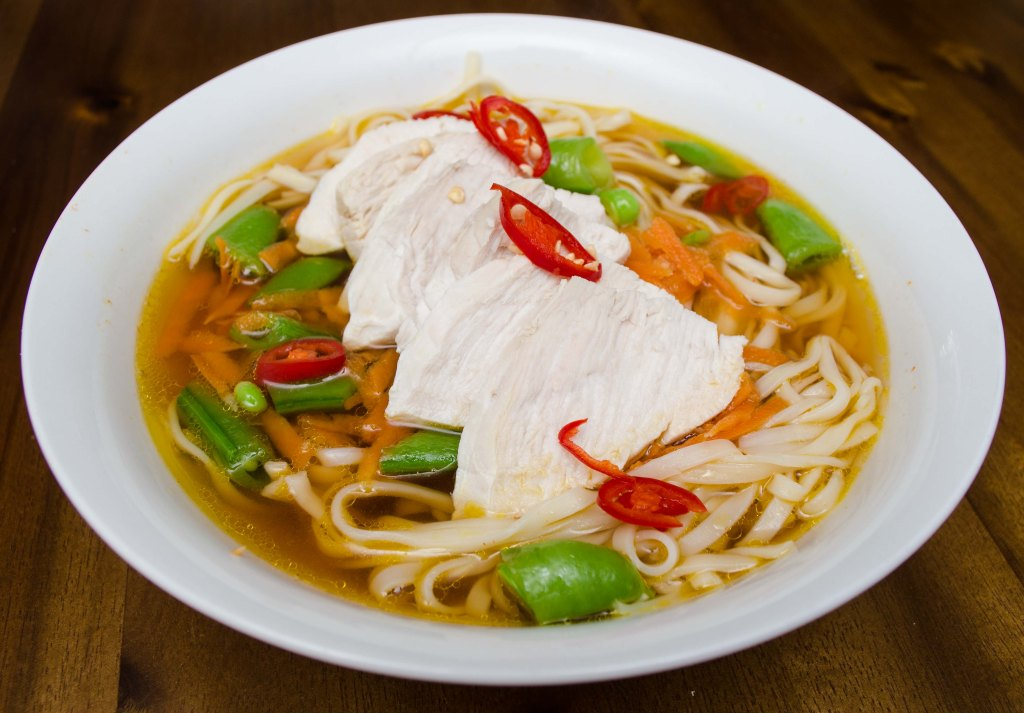 Marley Spoon Asian Chicken Noodle Soup