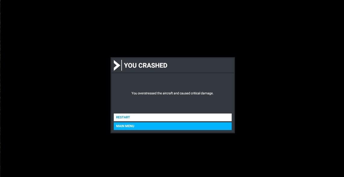 Microsoft Flight Simulator Crash