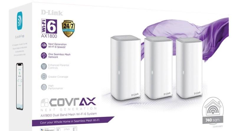 COVR AX AX1800 Dual Band Seamless Mesh Wi-Fi 6 System