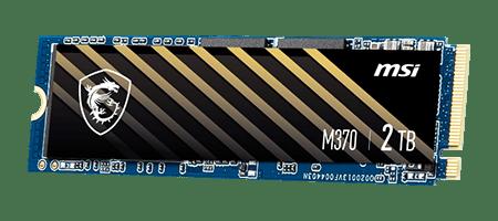 MSI SPATIUM M370 - High-performance PCIe NVMe M.2 SSD