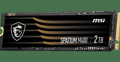 MSI SPATIUM - High-performance PCIe NVMe M.2 SSD