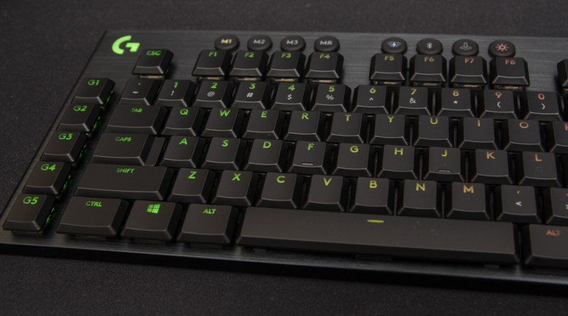 LoLogitech G915 LIGHTSPEED With GL Tactile Switches Review Review