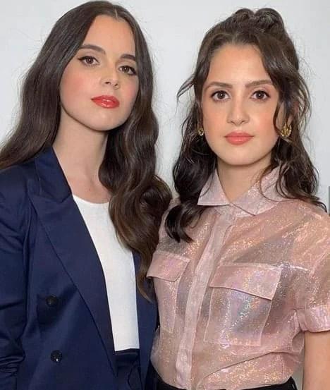 Vanessa Marano and Laura