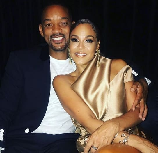 Sheree and Will Smith