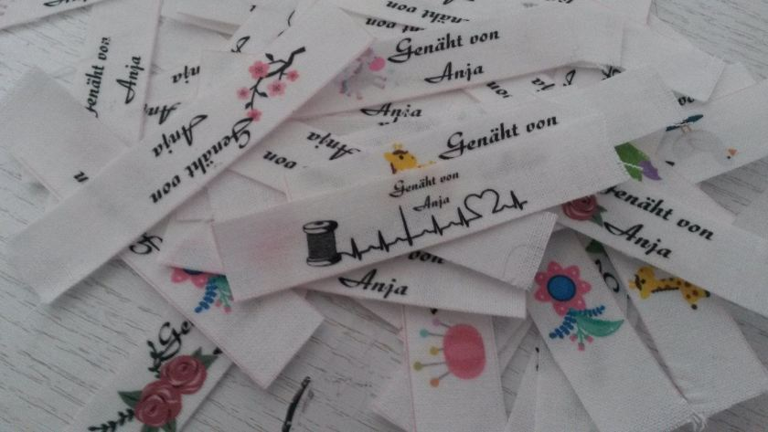DIY Labels,labels einnähen,label selber machen, do it yourself, fabric, idee,idea,anleitung
