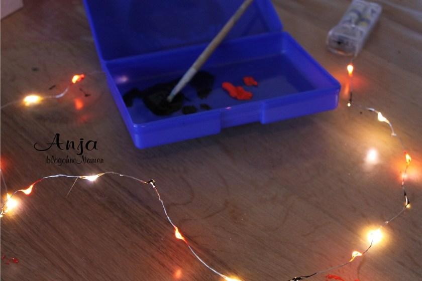 3D Bilderrahmen Action, 3D Bilderrahmen Plotter, Plotter Anleitung, Print and Cut, Print & Cut, Etikettenfolie, selbstklebende Folie, Lichterkette, Lampe basteln, Kinderzimmerlampe, Nachtlicht, basteln mit Kinder,
