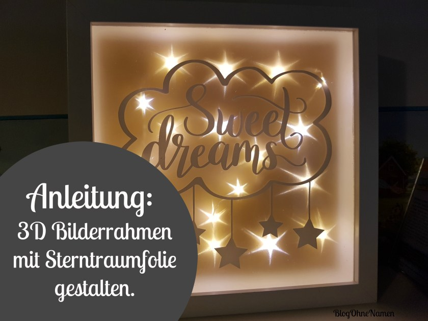 plotter anleitung bilderrahmen mit sterntraumfolie bekleben v1 blog ohne namen. Black Bedroom Furniture Sets. Home Design Ideas